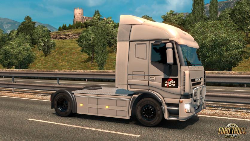 Screenshot 9 - Euro Truck Simulator 2 - Pirate Paint Jobs Pack