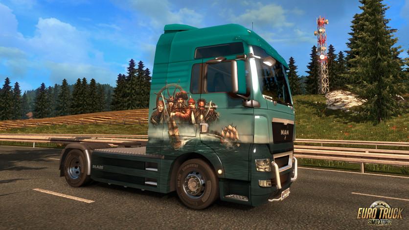 Screenshot 5 - Euro Truck Simulator 2 - Pirate Paint Jobs Pack