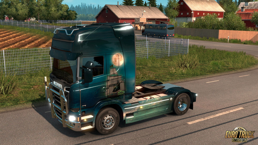Screenshot 10 - Euro Truck Simulator 2 - Pirate Paint Jobs Pack