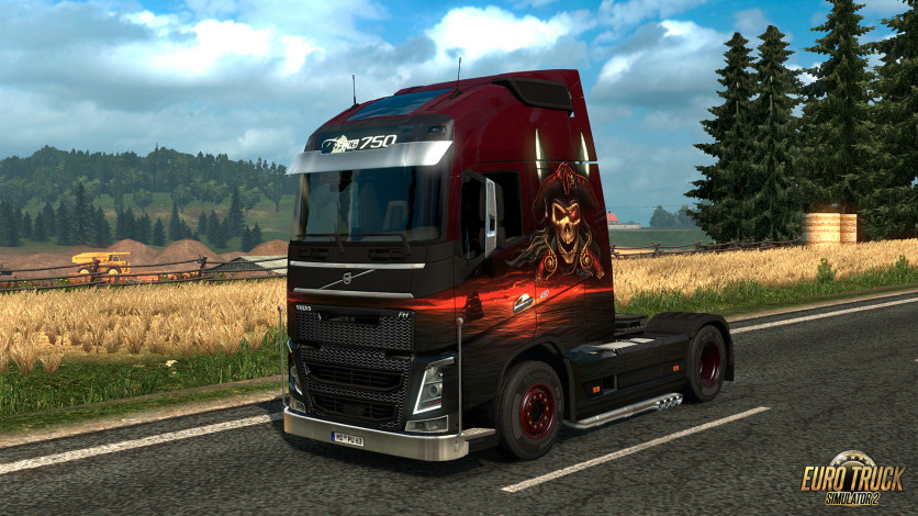 Screenshot 4 - Euro Truck Simulator 2 - Pirate Paint Jobs Pack
