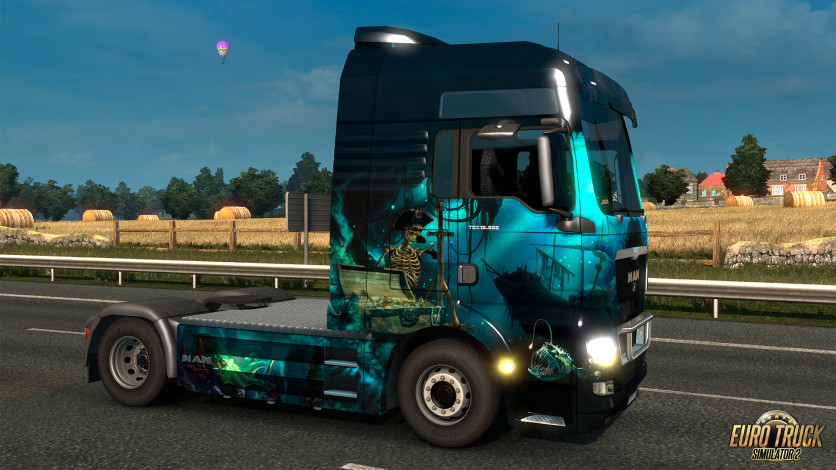 Screenshot 3 - Euro Truck Simulator 2 - Pirate Paint Jobs Pack