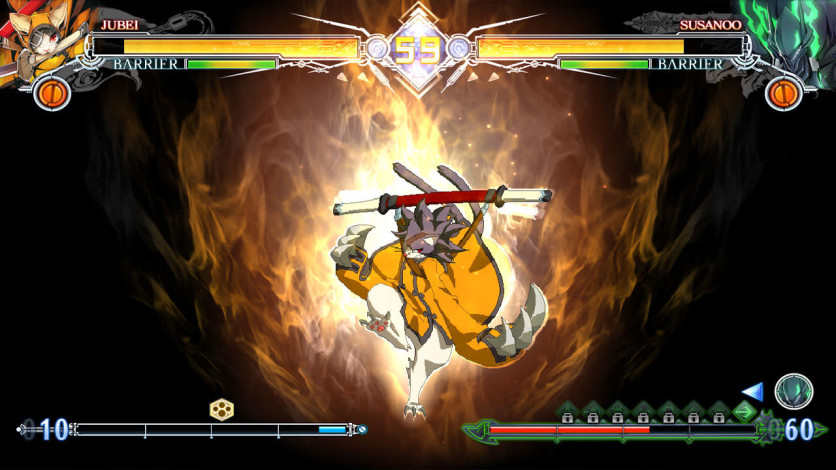 Screenshot 4 - BlazBlue Centralfiction - Additional Playable Character JUBEI