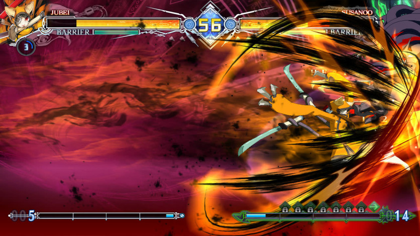 Screenshot 13 - BlazBlue Centralfiction - Additional Playable Character JUBEI