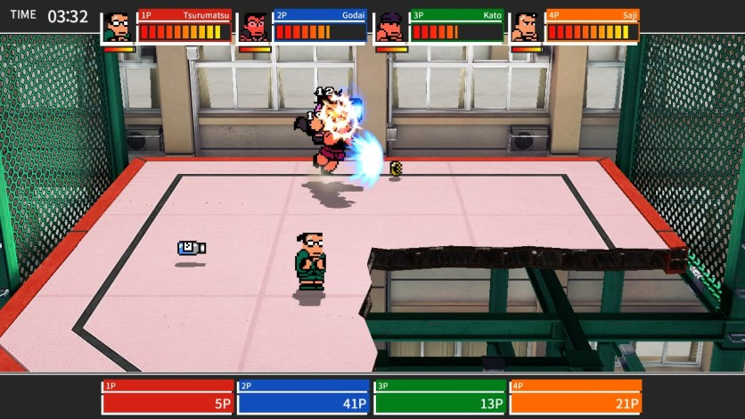 Screenshot 11 - River City Melee : Battle Royal Special