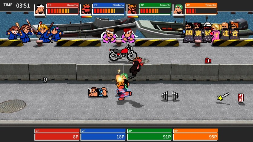 Screenshot 4 - River City Melee : Battle Royal Special