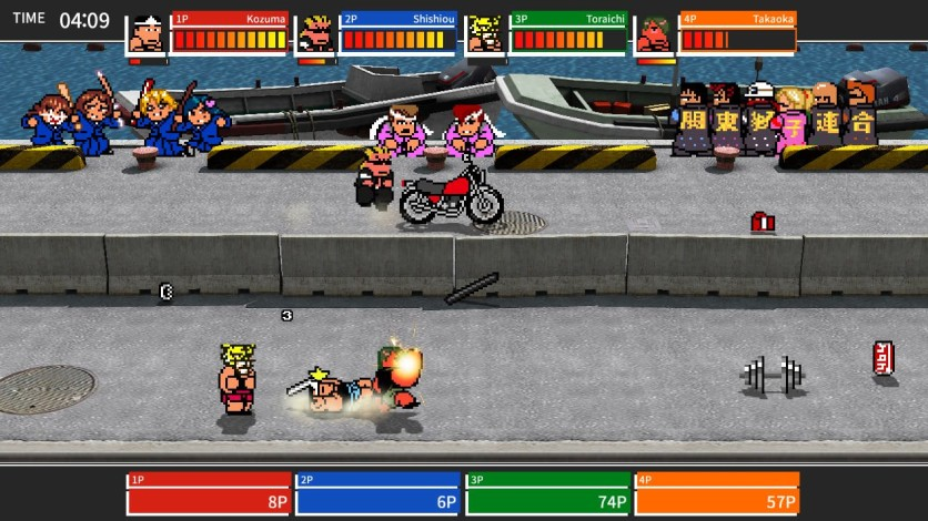 Screenshot 6 - River City Melee : Battle Royal Special