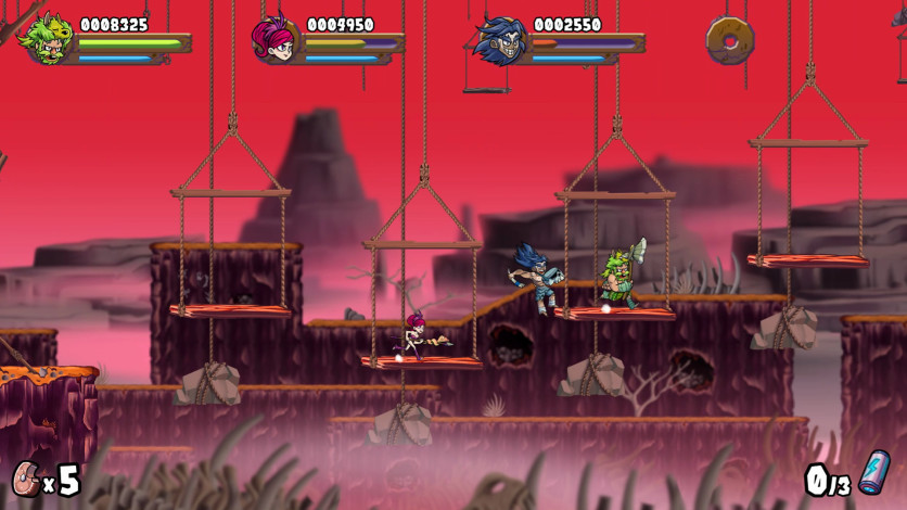Screenshot 4 - Caveman Warriors