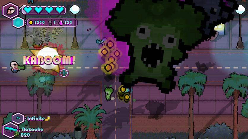 Screenshot 4 - The Walking Vegetables