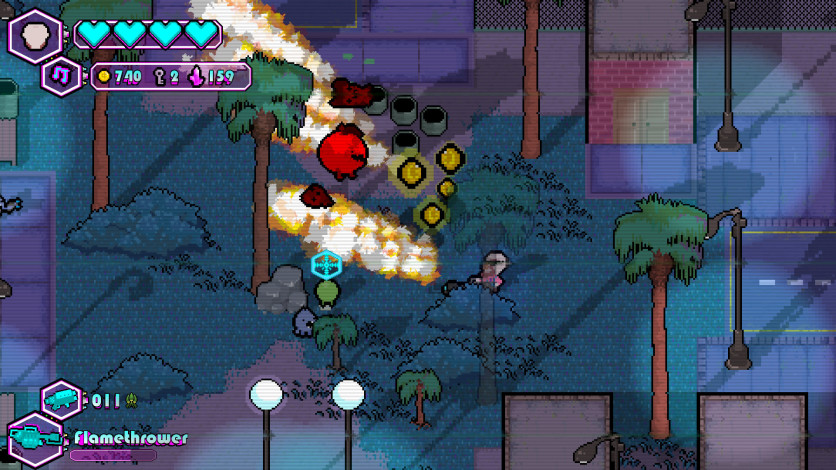 Screenshot 5 - The Walking Vegetables