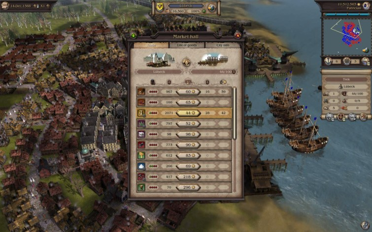 Screenshot 1 - Patrician IV: Rise of a Dynasty