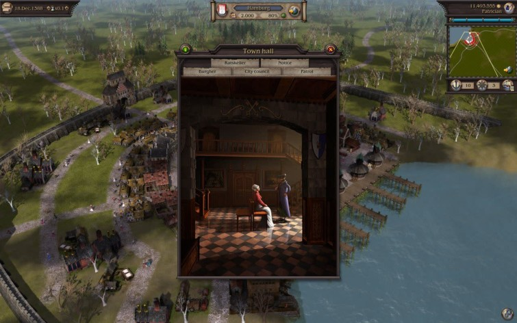 Screenshot 3 - Patrician IV: Rise of a Dynasty