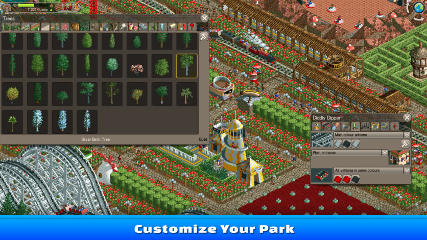 Screenshot 4 - RollerCoaster Tycoon Classic