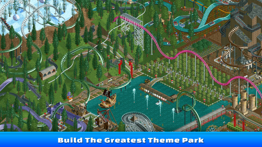 Screenshot 6 - RollerCoaster Tycoon Classic
