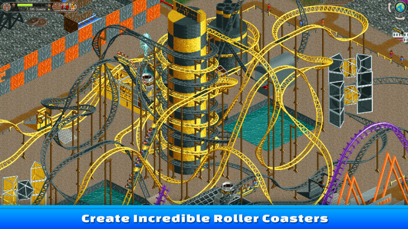 Screenshot 5 - RollerCoaster Tycoon Classic