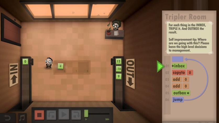 Screenshot 1 - Human Resource Machine