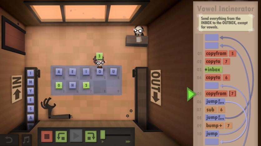 Screenshot 10 - Human Resource Machine