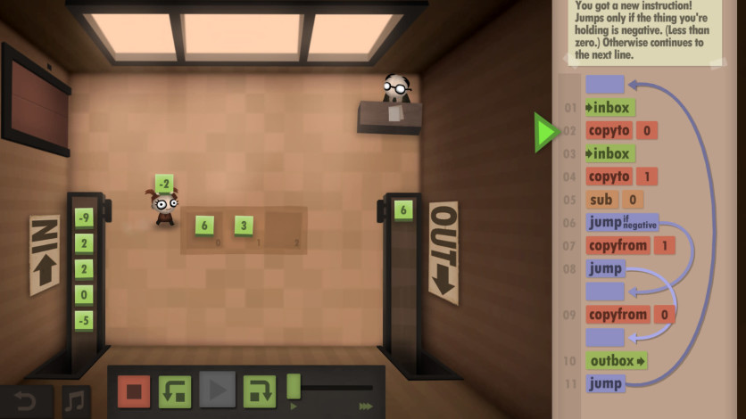 Screenshot 6 - Human Resource Machine