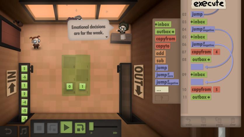 Screenshot 8 - Human Resource Machine