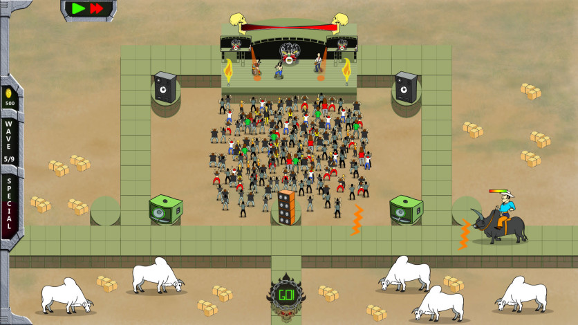 Screenshot 8 - Rock 'N' Roll Defense