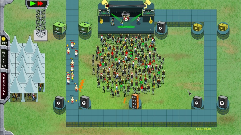 Screenshot 6 - Rock 'N' Roll Defense