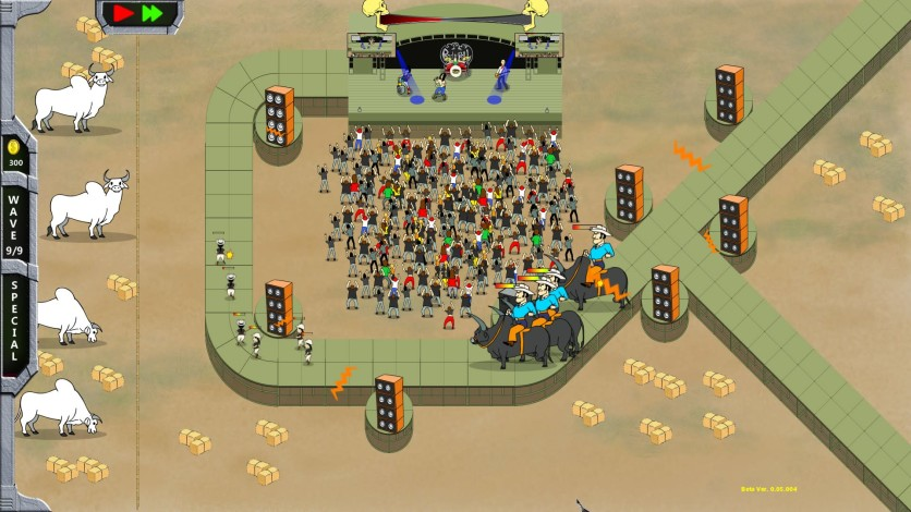 Screenshot 5 - Rock 'N' Roll Defense