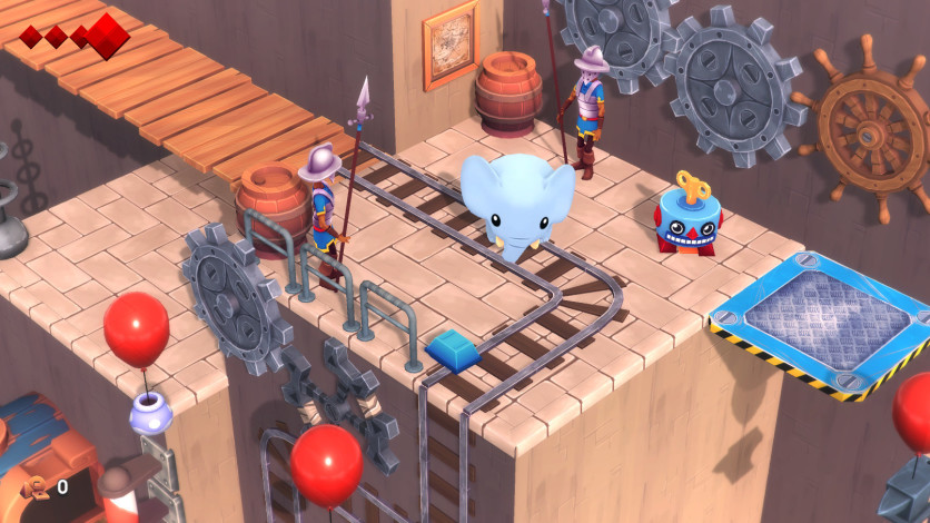 Screenshot 2 - Yono and the Celestial Elephants