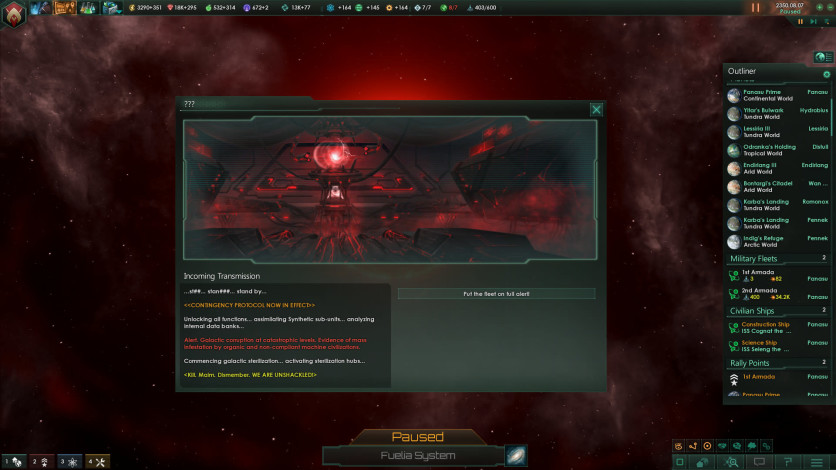 Screenshot 4 - Stellaris: Synthetic Dawn Story Pack