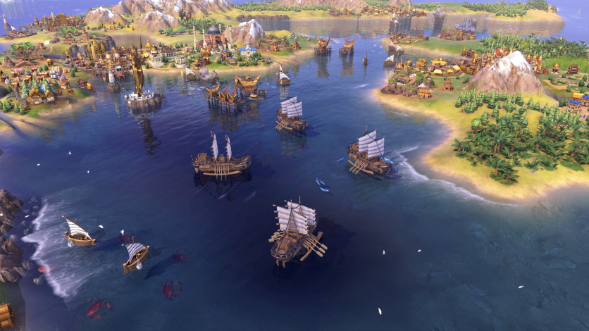 Screenshot 3 - Sid Meier's Civilization VI - Khmer and Indonesia Civilization & Scenario Pack