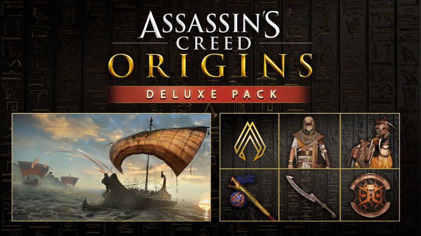 Screenshot 1 - Assassin's Creed: Origins - The Deluxe Pack