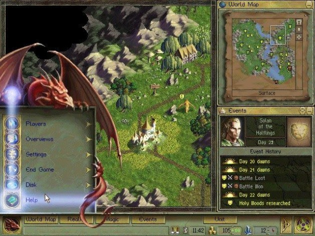 Screenshot 2 - Age of Wonders