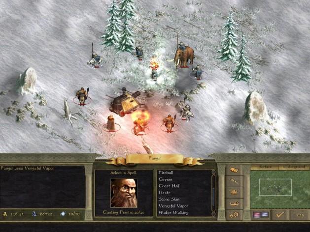Screenshot 5 - Age of Wonders II: The Wizard's Throne