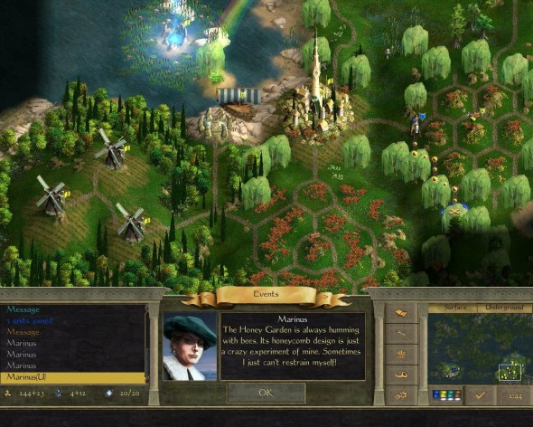 Screenshot 7 - Age of Wonders II: The Wizard's Throne