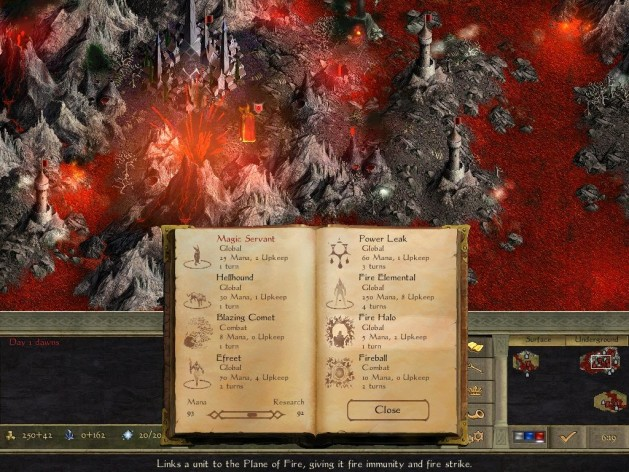 Screenshot 6 - Age of Wonders II: The Wizard's Throne