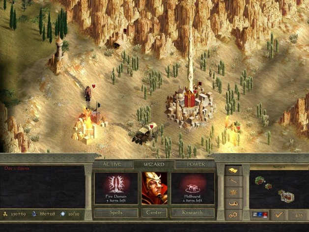 Screenshot 2 - Age of Wonders II: The Wizard's Throne