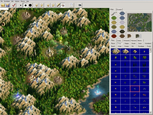 Screenshot 3 - Age of Wonders II: The Wizard's Throne