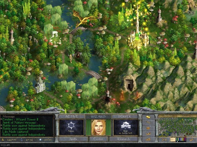 Screenshot 3 - Age of Wonders: Shadow Magic