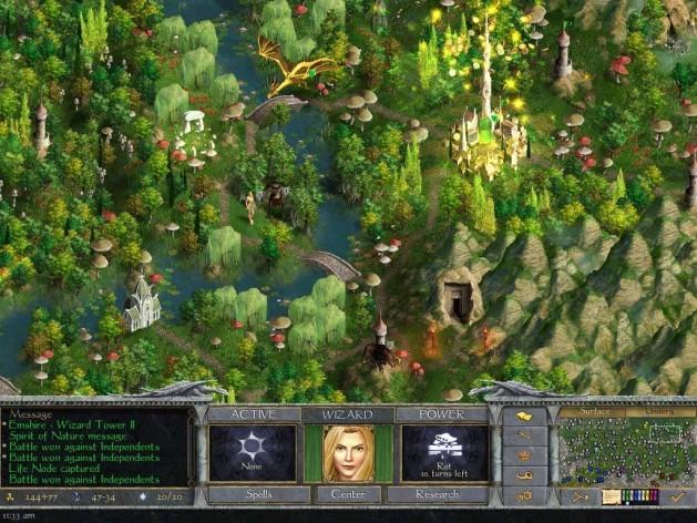 Screenshot 3 - Age of Wonders: Shadow Magic