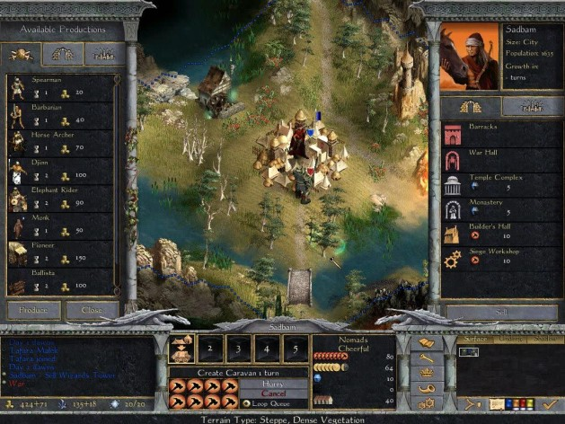 Screenshot 8 - Age of Wonders: Shadow Magic