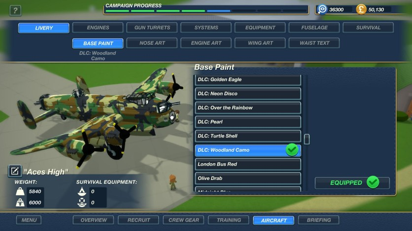 Screenshot 6 - Bomber Crew Skin Pack