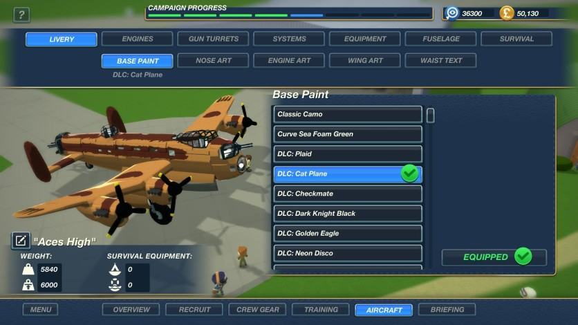 Screenshot 7 - Bomber Crew Skin Pack