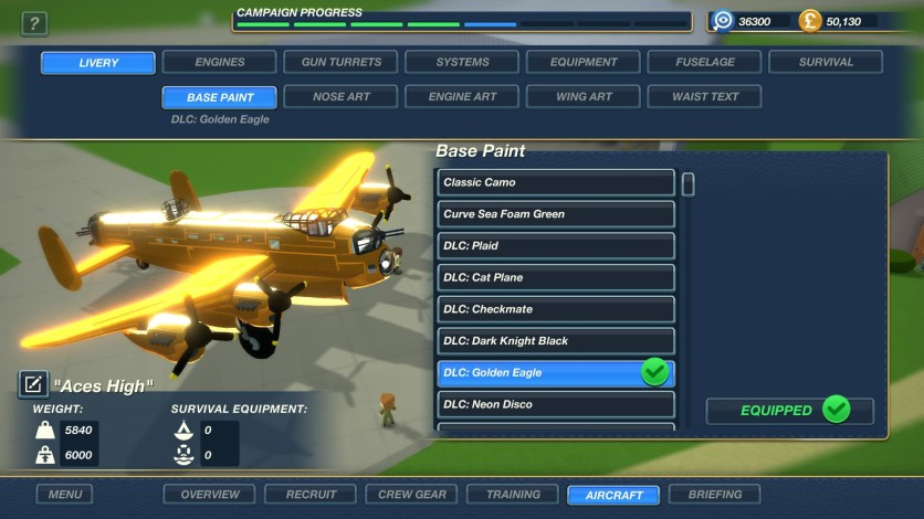 Screenshot 5 - Bomber Crew Skin Pack