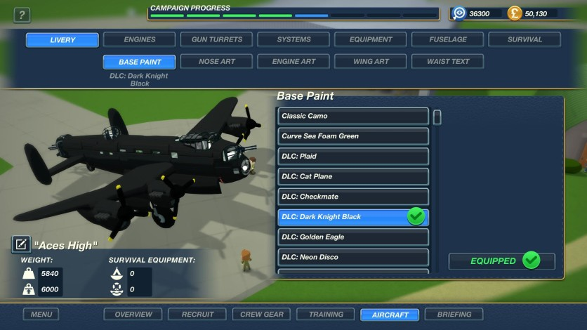 Screenshot 9 - Bomber Crew Skin Pack