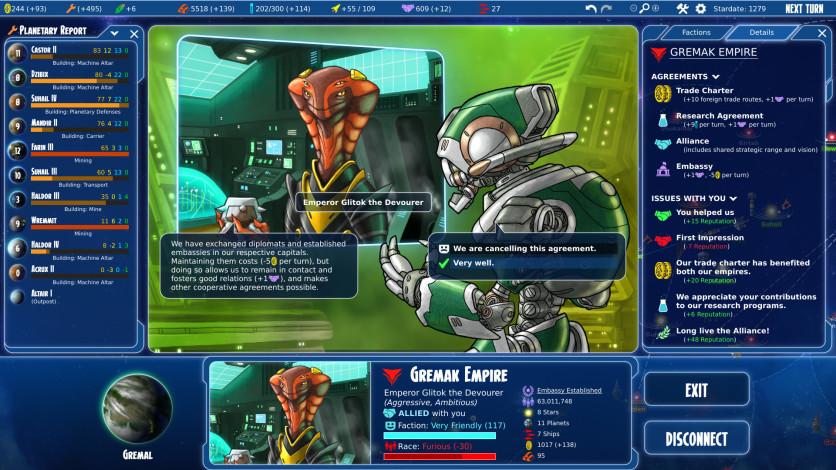 Screenshot 4 - Stars in Shadow: Legacies