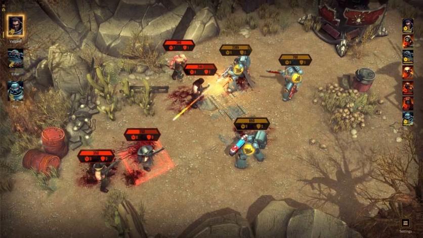 Screenshot 6 - Warhammer 40,000: Space Wolf