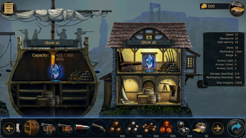 Screenshot 7 - Tempest: Pirate Action RPG