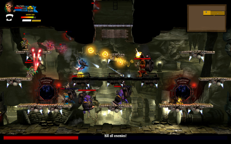 Screenshot 7 - Rogue Stormers Deluxe