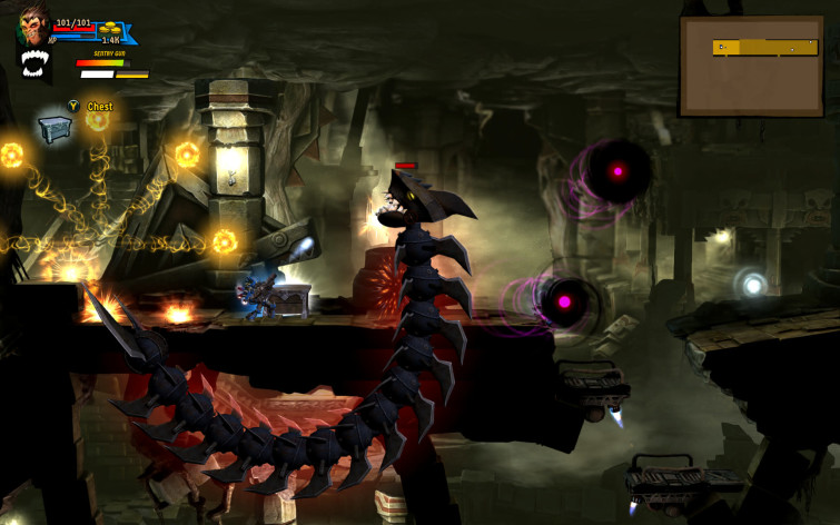 Screenshot 8 - Rogue Stormers Deluxe