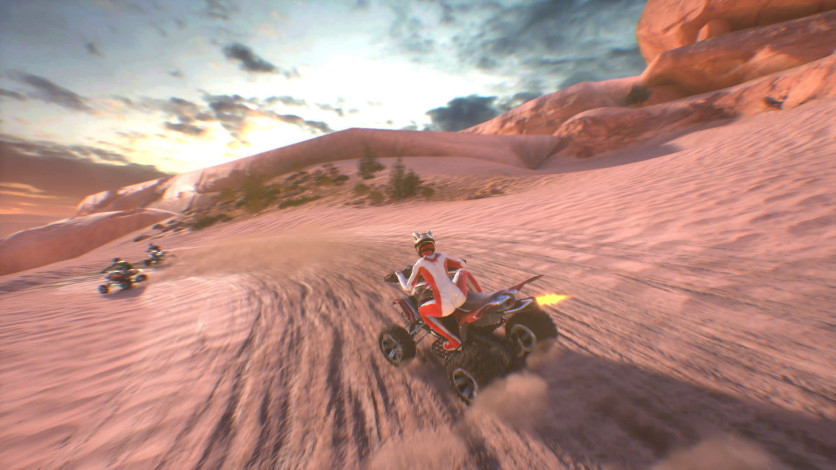 Screenshot 2 - ATV Drift & Tricks
