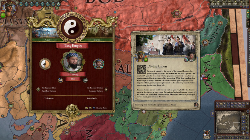 Screenshot 4 - Crusader Kings II: Jade Dragon