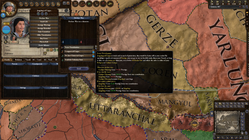 Screenshot 3 - Crusader Kings II: Jade Dragon